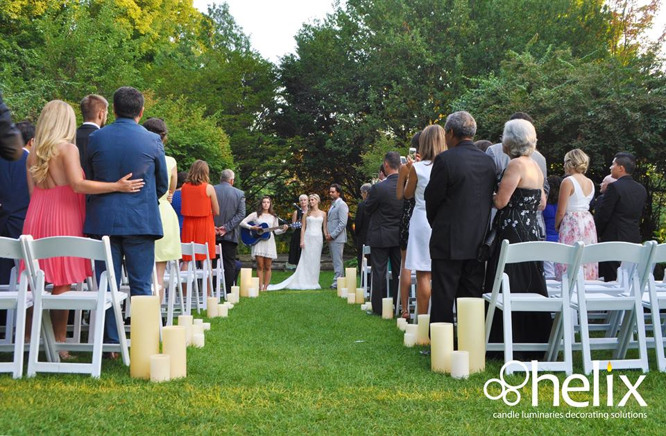 McLean House Outdoor Ceremony